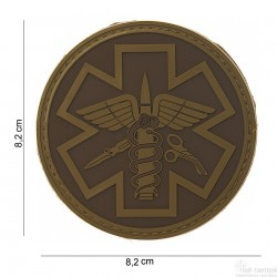 Patch Para Medic marron