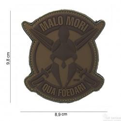 Patch Malo Mori marron