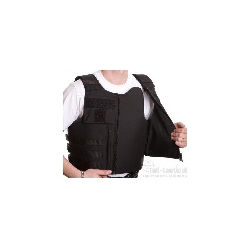 Gilet pare balles port exterieur full tactical for Housse gilet pare balle gk