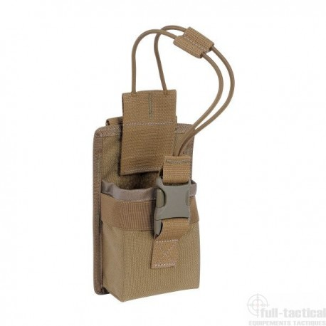 TAC POUCH 3 RADIO COYOTE