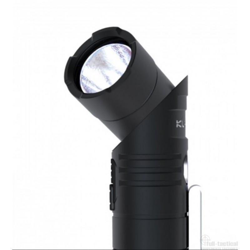 lampe rechargeable ar10 led 1080 lumens full tactical. Black Bedroom Furniture Sets. Home Design Ideas