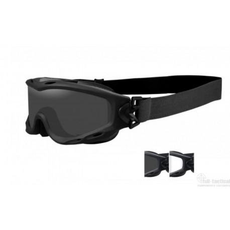 Masque de protection balistique Spear tan écrans fumé/incolore