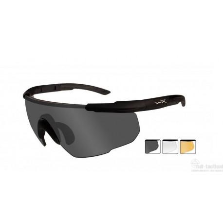 Lunettes de protection balistiques Saber Advanced écrans fumé/incolore/orange