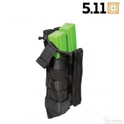 Porte chargeur MP5 Bungee double noir 5.11
