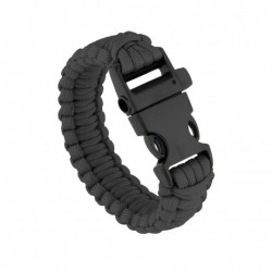 Bracelet de survie noir