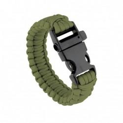 Bracelet de survie vert OD