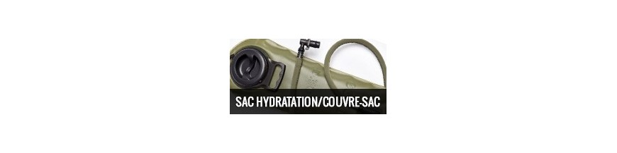 Sac/ poche d'hydratation/ Couvre sac