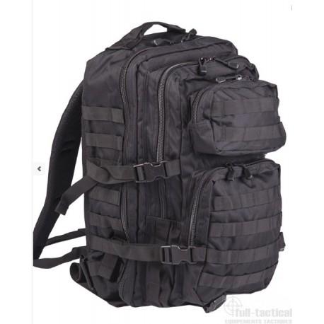 Sac à dos US Assault Pack grand noir
