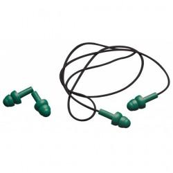 Bouchons anti-bruit réutilisables avec cordon