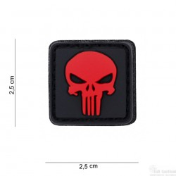 Patch Punisher rouge