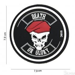 Patch Death or Glory noir