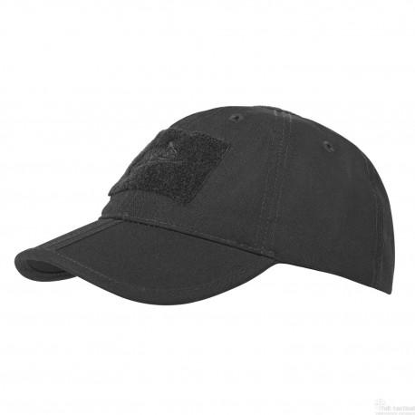 Baseball FOLDING Cap black Helikon-tex