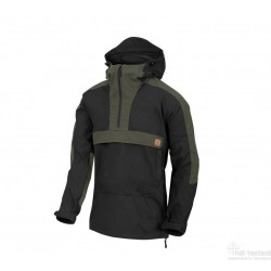Woodsman Jacket Black/ Taiga Green
