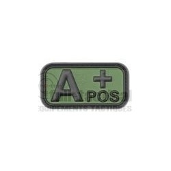 Patch Gomme Groupe sanguin A+
