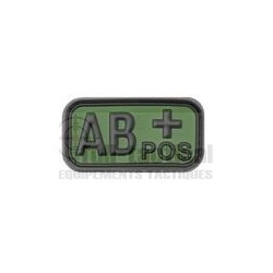 Patch Gomme Groupe sanguin AB+