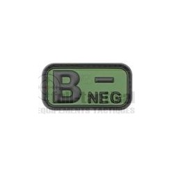 Patch Gomme Groupe sanguin B-