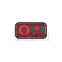 Patch Gomme Groupe sanguin O+