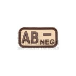 Patch Gomme Groupe sanguin AB-