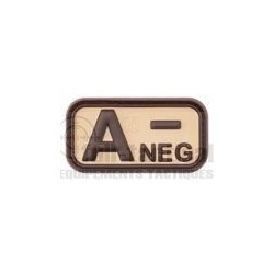 Patch Gomme Groupe sanguin A-