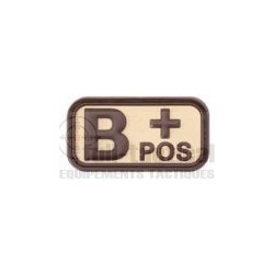 Patch Gomme Groupe sanguin B+