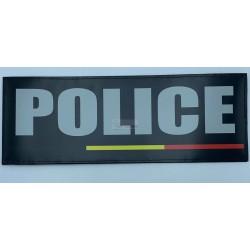 PATCH DORSAL POLICE DRAPEAU...
