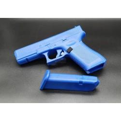 Glock 17 training bleu
