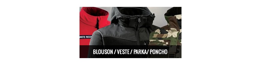 Blouson/ Veste/ Parka/ Poncho
